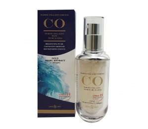 Dearderm CO Marine Collagen Essence with Pearl & Gold 1.35fl.oz/40ml
