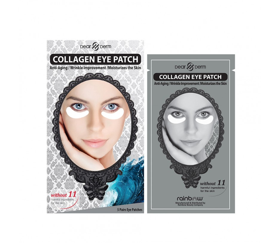 Dearderm Collagen Eye Patch (5pairs)