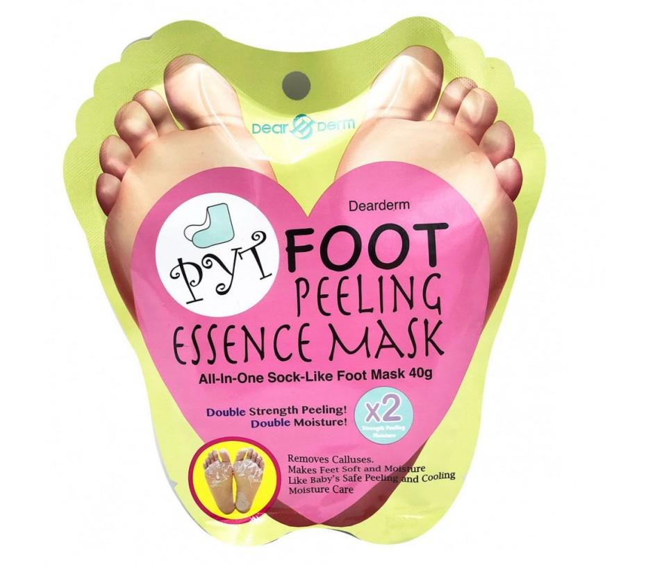 Dearderm PYT Foot Peeling Essence Mask