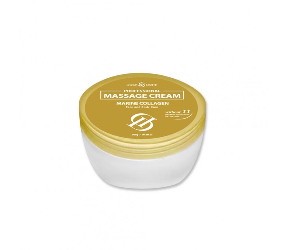 Dearderm Professional Massage Cream Marine Collagen 10.6fl.oz/300g