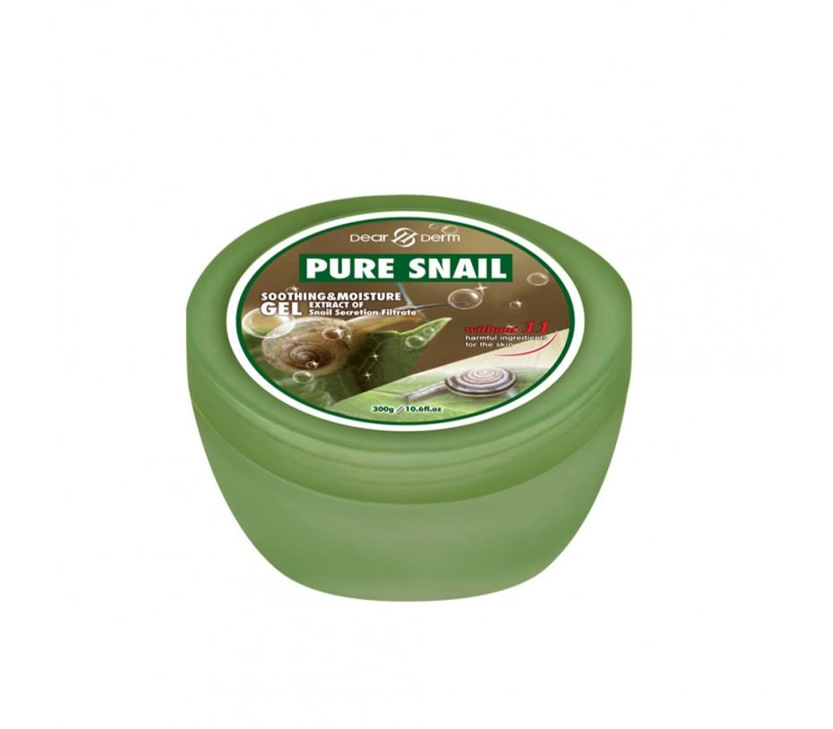 Dearderm Pure Snail Soothing & Moisture Gel 10.6fl.oz/300g