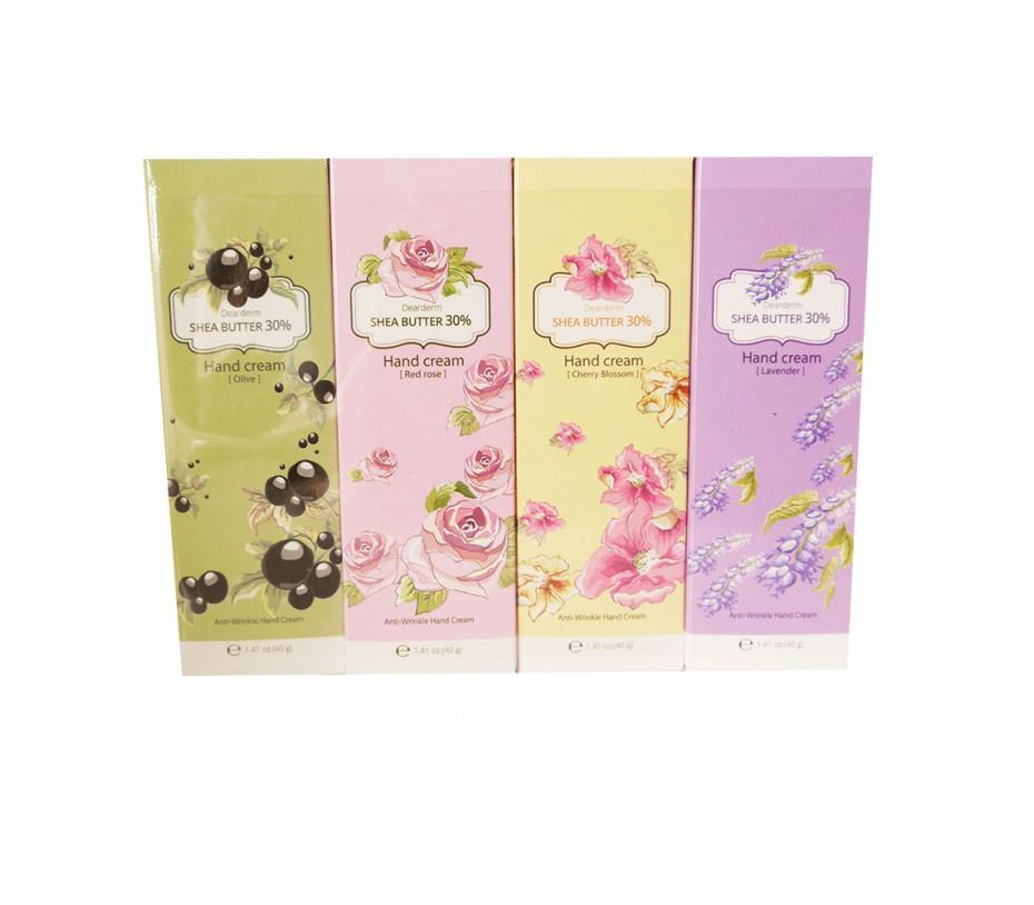 Dearderm Shea Butter Hand Cream Set (4pcs)