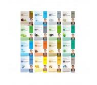 Dermal Dermal Collagen Essence Facial Mask Sheet - Assorted Pack (16 Pack)