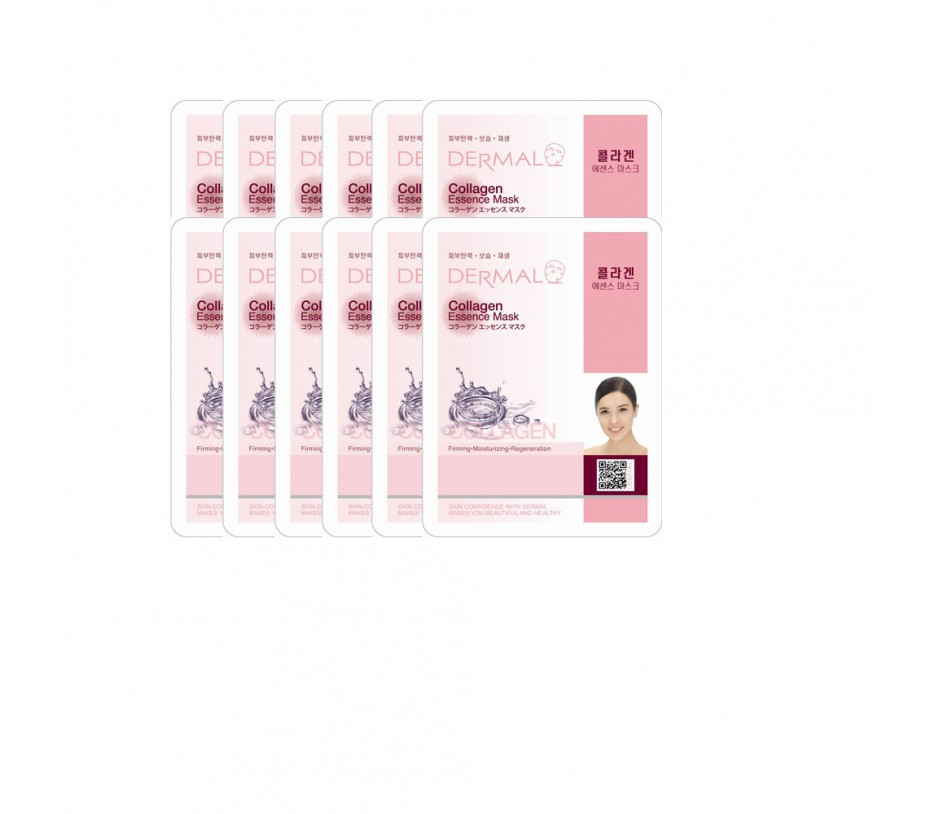 Dermal Dermal Collagen Essence Mask (10 Sheets)