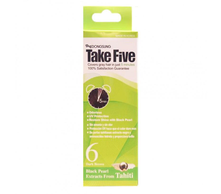 Dongsung Take Five #6 Dark Brown 1.05oz/30g