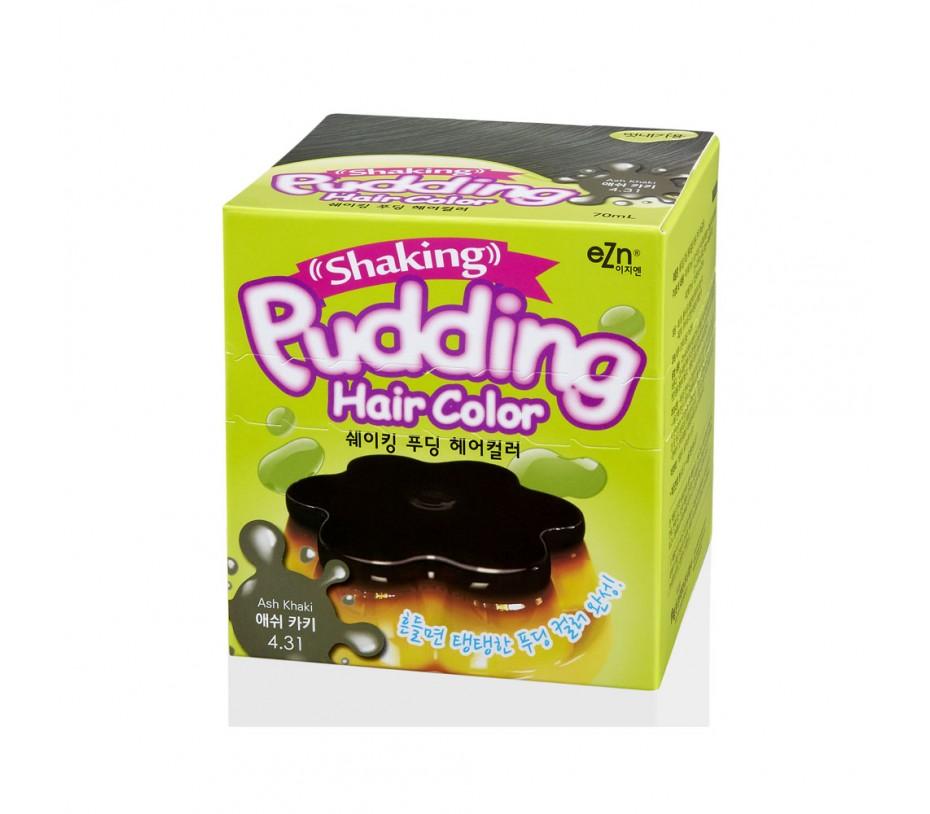 Dongsung eZn Shaking Pudding Hair Color (Ash Kahki 4.31) 2.37oz/67g