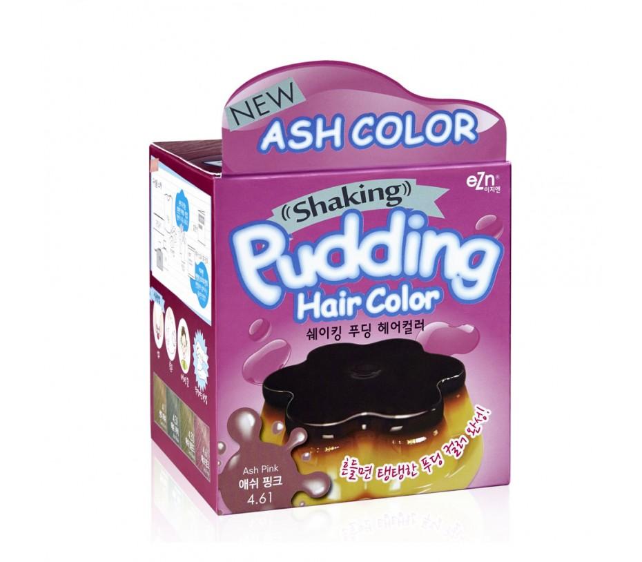 Dongsung eZn Shaking Pudding Hair Color (Ash Pink 4.61) 2.37oz/67g