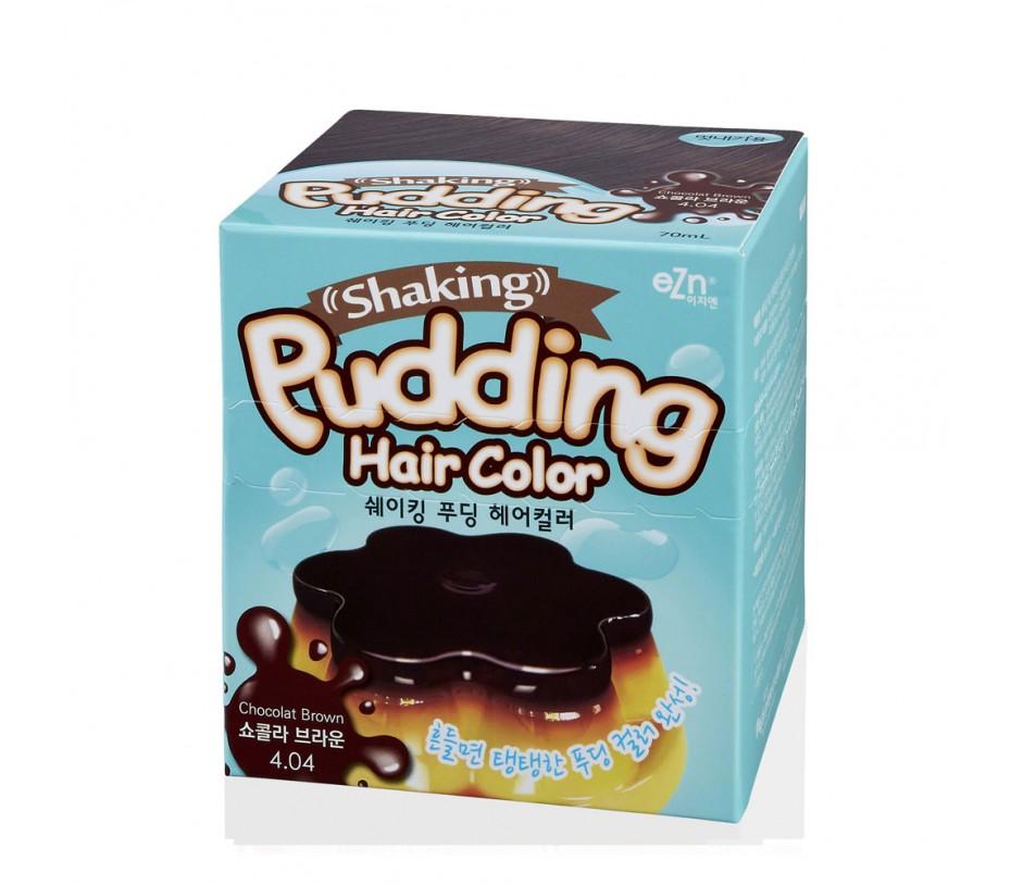 Dongsung eZn Shaking Pudding Hair Color (Chocolate Brown 4.04) 2.37oz/67g