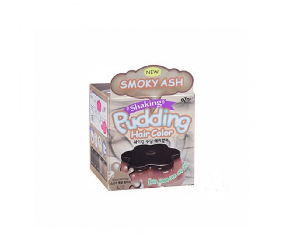 Dongsung eZn Shaking  Pudding Hair Color (Smoky Ash Beige 6.12) 2.37oz/67g