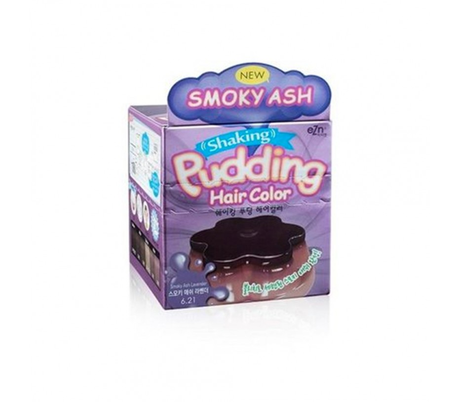 Dongsung eZn Shaking Pudding Hair Color (Smoky Ash Lavender 6.21) 2.37oz/67g