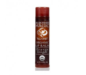 Dr. Bronner's Magic Soaps Orange Ginger Organic Lip Balm 1.8oz/51g