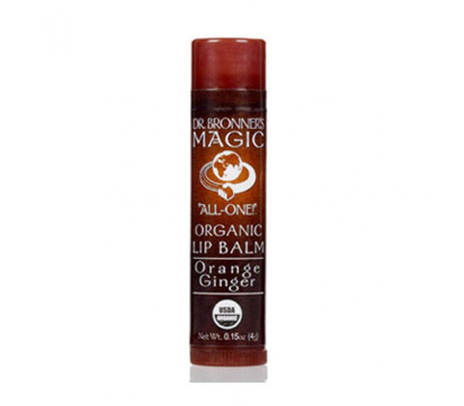 Dr. Bronner's Magic Soaps Orange Ginger Organic Lip Balm 1.8oz/51g