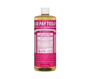 Dr. Bronner's Magic Soaps Rose Pure Castile Classic Soap 32fl.oz/946ml