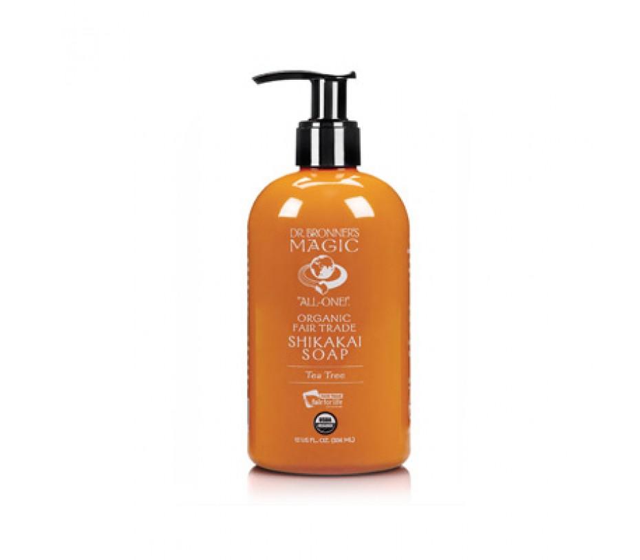 Dr. Bronner's Magic Soaps Tea Tree Organic Shikakai Body Soap 24fl.oz/710ml