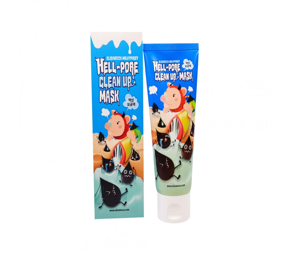 Elizavecca Hell-pore Clean up Mask 3.38fl.oz/100ml