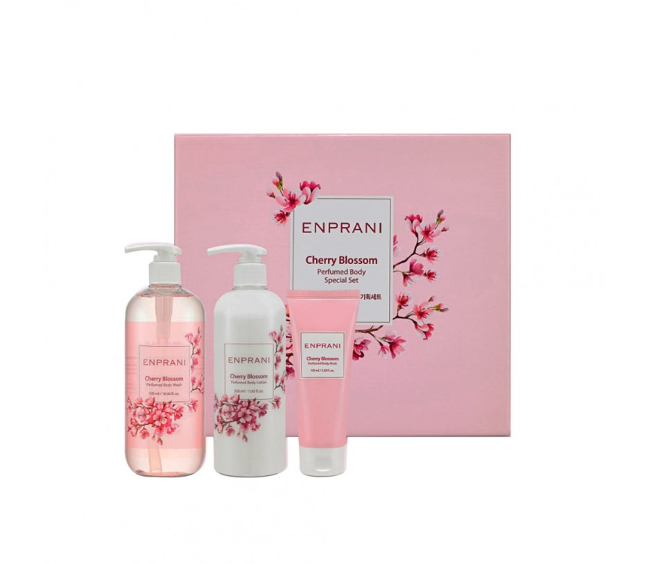 Enprani Cherry Blossom Perfumed Body Special Set