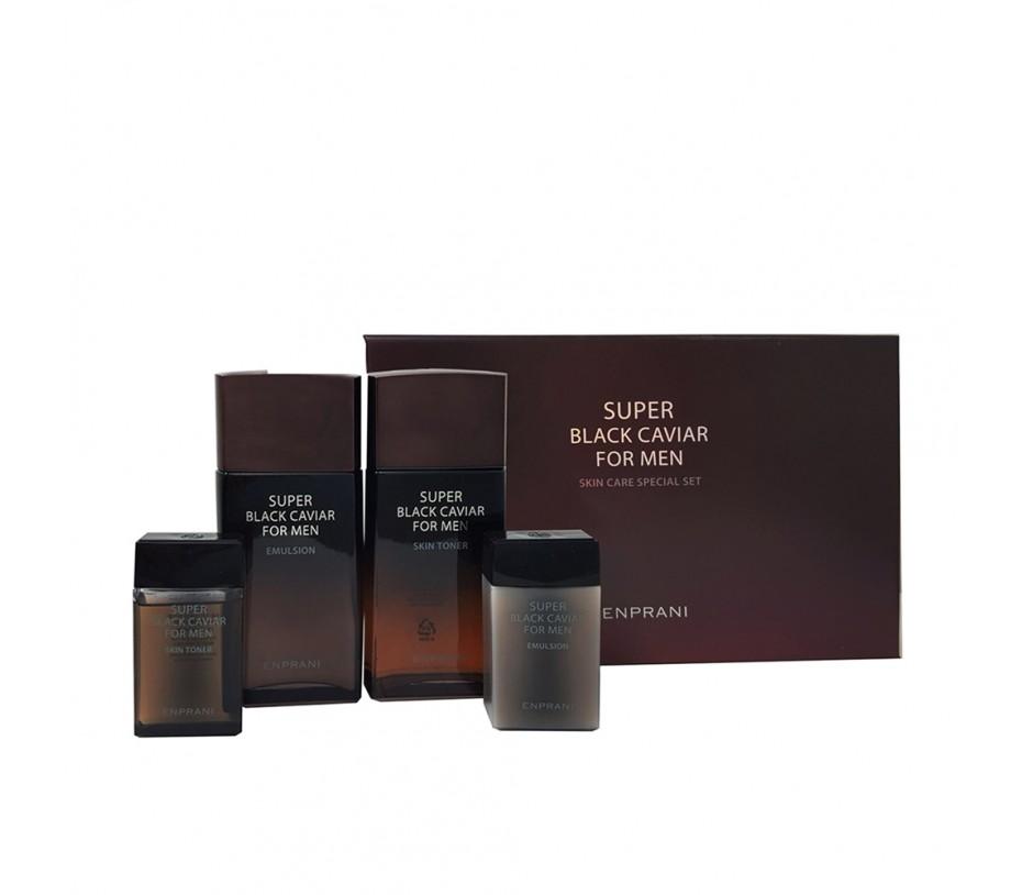 Enprani For Men Super Black Caviar Set for Men