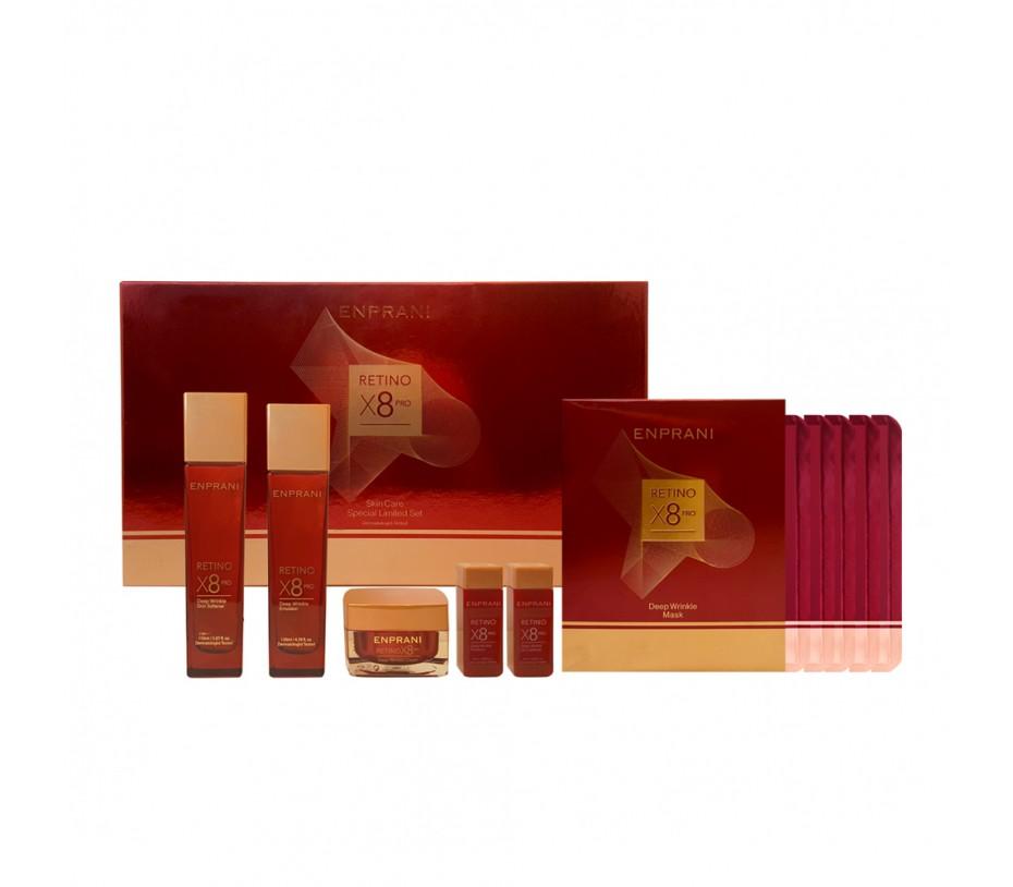 Enprani RETINO X8 PRO 4Pcs Skin Care Special Limited Set