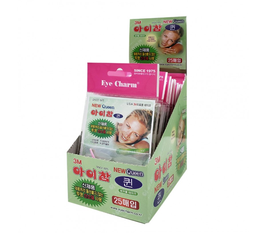 Eye Charm Double Eyelid Tape 40 pairs (New Package) 25pkgs