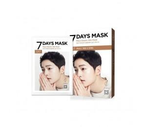 Forencos 7 Days Mask Saturday Mayu Elastic Silk Mask (10 Sheets) 0.84fl.oz/25ml