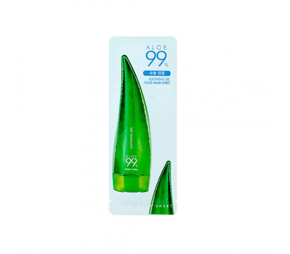 Holika Holika Aloe 99% Soothing Gel Gelee Mask Sheet (10 Sheets) 0fl.oz/0ml