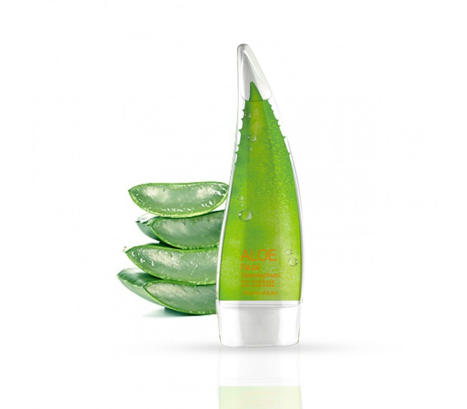 Holika Holika Aloe Facial Cleansing Foam 5.07oz/144g