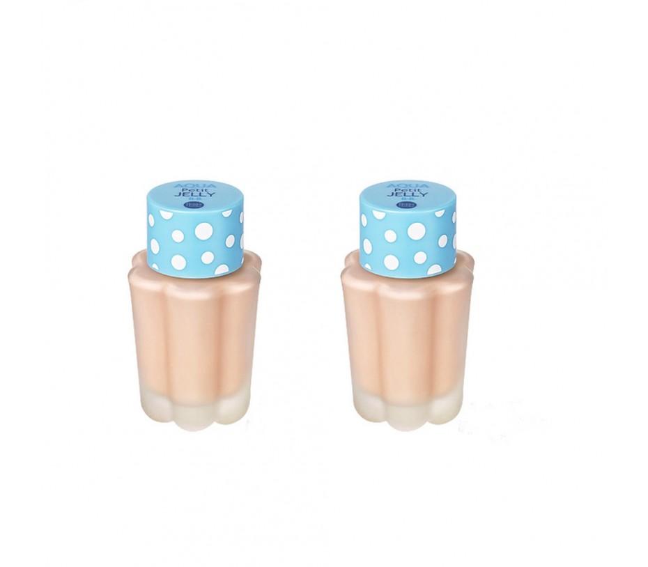 Holika Holika Aqua Petit Jelly B.B SPF 20 PA++ (02 Aqua Neutral) 2packs 1.35oz/38g