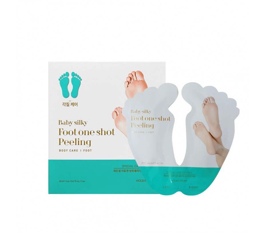 Holika Holika Baby Silky Foot One Shot Peeling (2 sheets)  0.68fl.oz/20.1ml