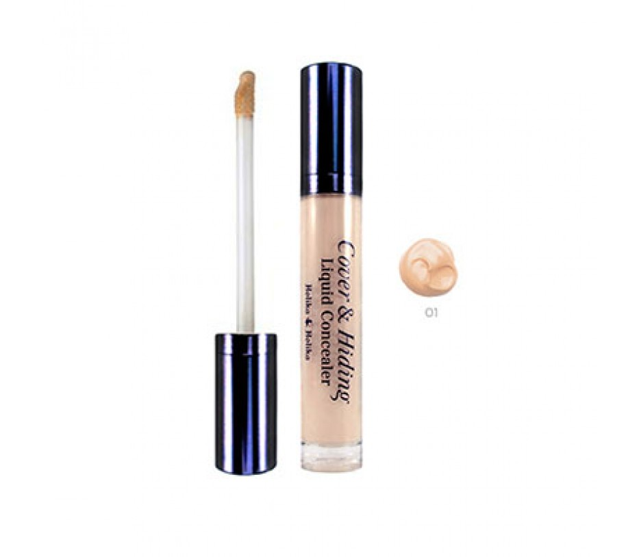 Holika Holika Cover & Hiding Liquid Concealer (01 Light Beige) 0.18oz/5.1g