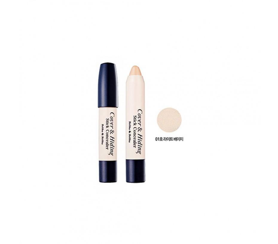 Holika Holika Cover & Hiding Stick Concealer (01 Light Beige) 0.176oz/5g