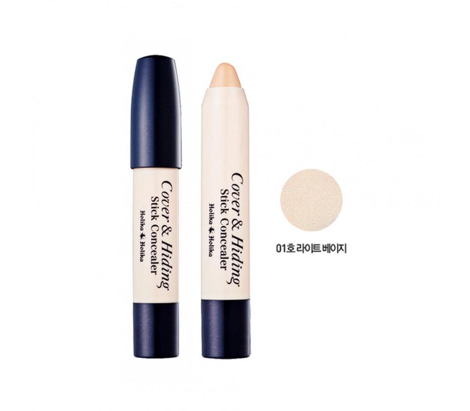 Holika Holika Cover & Hiding Stick Concealer (02 Natural Beige) 0.176oz/5g