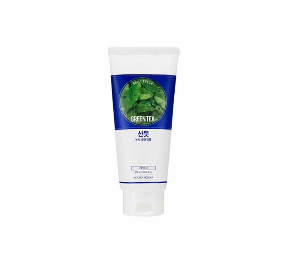Holika Holika Daily Fresh Green Tea Cleansing Foam 10.14oz/287g