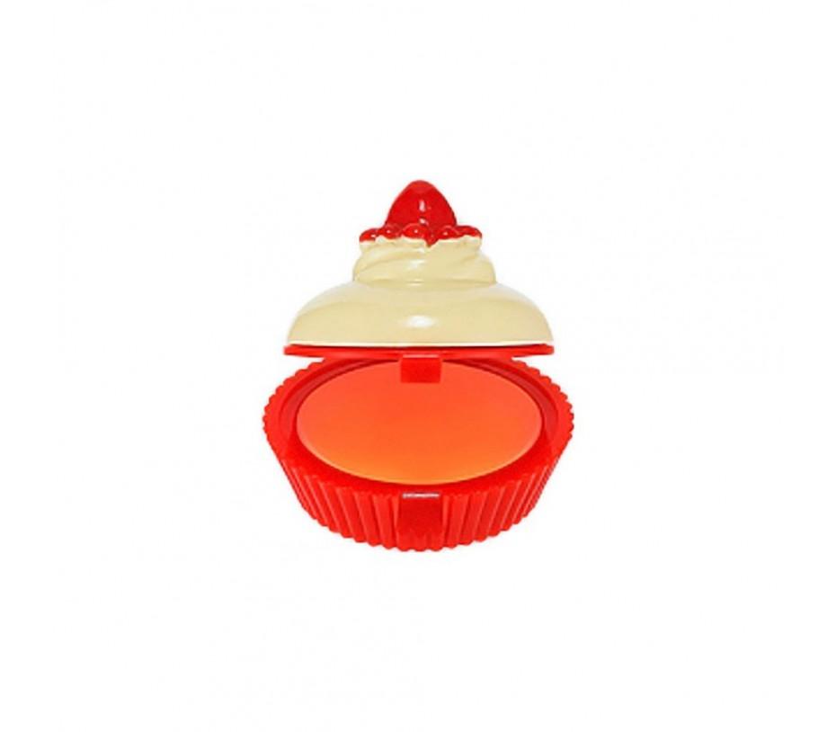 Holika Holika Dessert Time Lip Balm (05 Orange Cupcake) .24oz/6.8g Yes To Cucumbers Soothing Calming Micellar Cleansing Water, 7.77 Oz (Pack of 3) + Makeup Blender Sponge