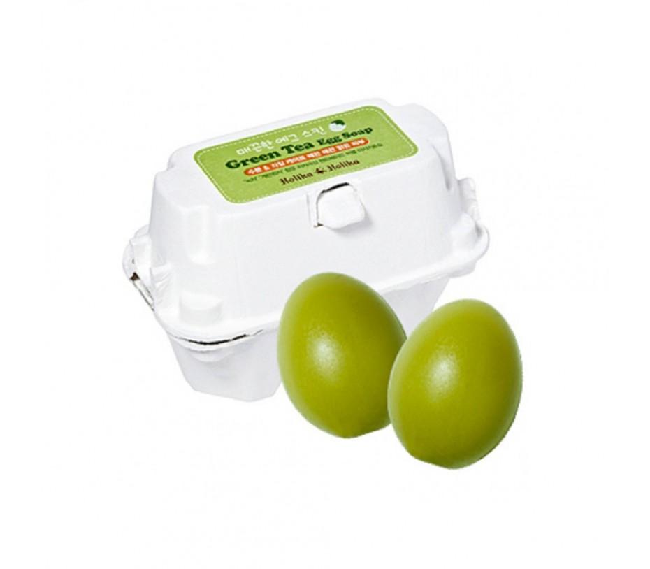 Holika Holika Smooth Egg Skin Green Tea Egg Soap