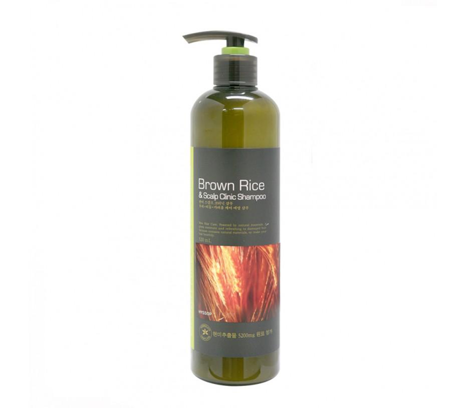 Hyssop Brown Rice & Scalp Clinic Shampoo 18.3fl.oz/541ml