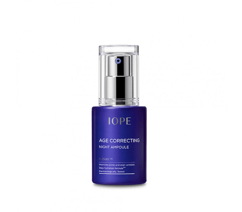IOPE Age Correcting Night Ampoule 1.01fl.oz/30ml