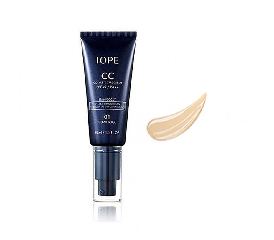 IOPE CC Cream Broad Spectrum SPF35/PA++ (#1 Clear Beige) 1.18oz/35ml