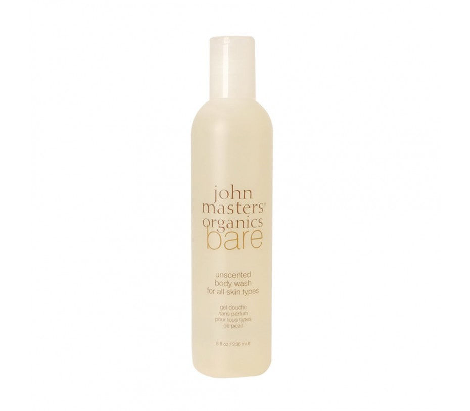 John Masters Organics Bare Unscented Body Wash for All Skin Types 8fl.oz/237ml