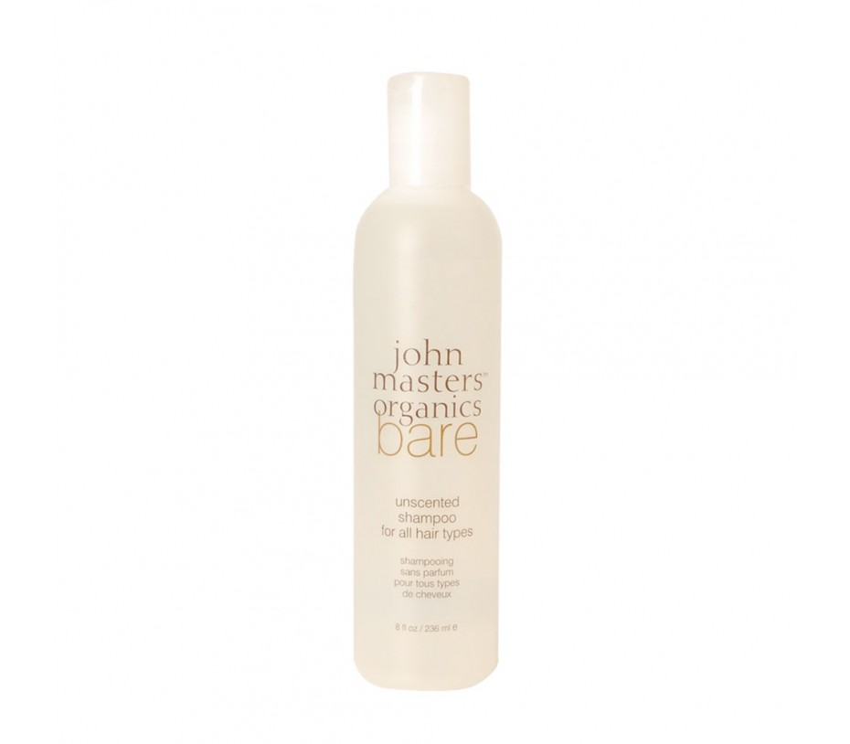 John Masters Organics Bare Unscented Shampoo for All Hair Types 8fl.oz/237ml