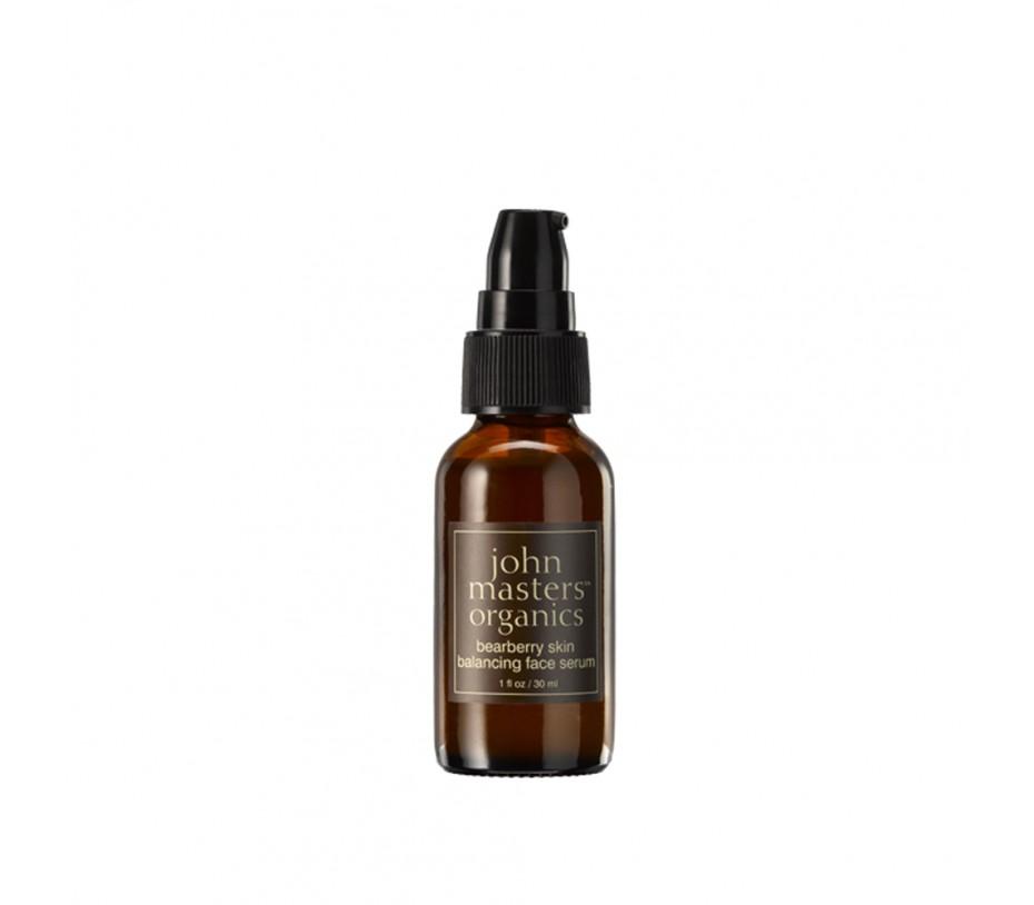 John Masters Organics Bearberry Skin Balancing Face Serum 1fl.oz/30ml