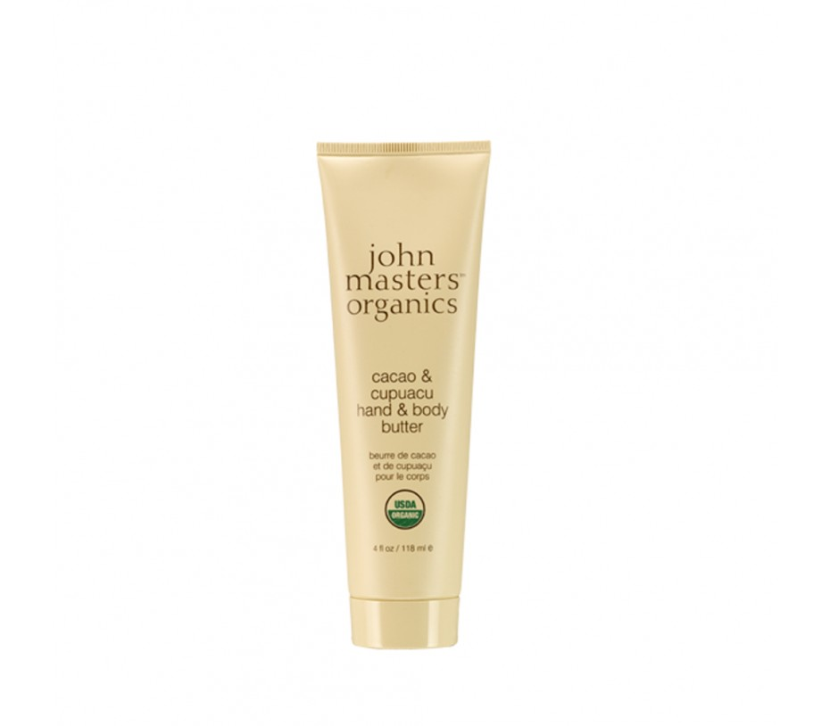 John Masters Organics Cacao & Cupuacu Hand & Body Butter 4oz/113g