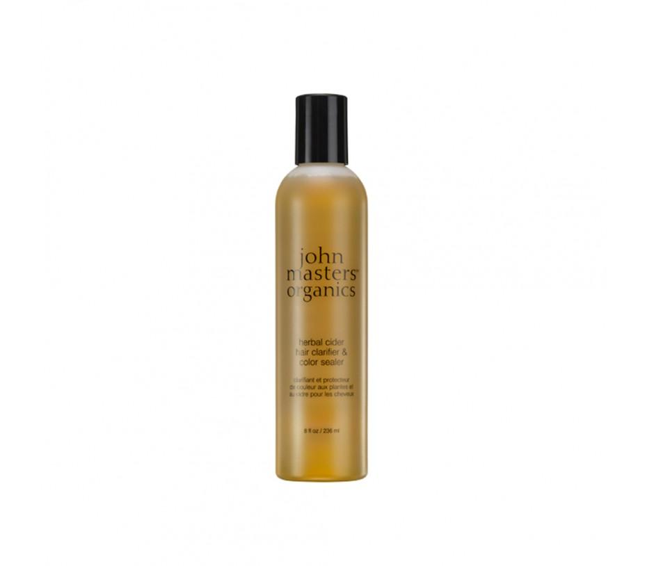 John Masters Organics Herbal Cider Hair Clarifier & Color Sealer 8fl.oz/237ml