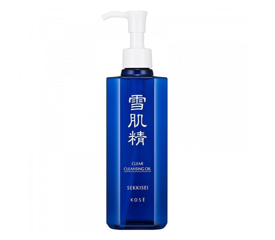 Kose Sekkisei Clear Cleansing Oil  8.4fl.oz/250ml