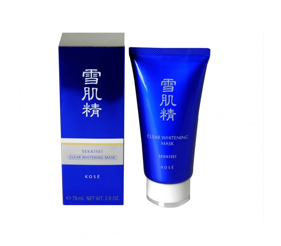Kose Sekkisei Clear Whitening Mask 2.8fl.oz/76ml