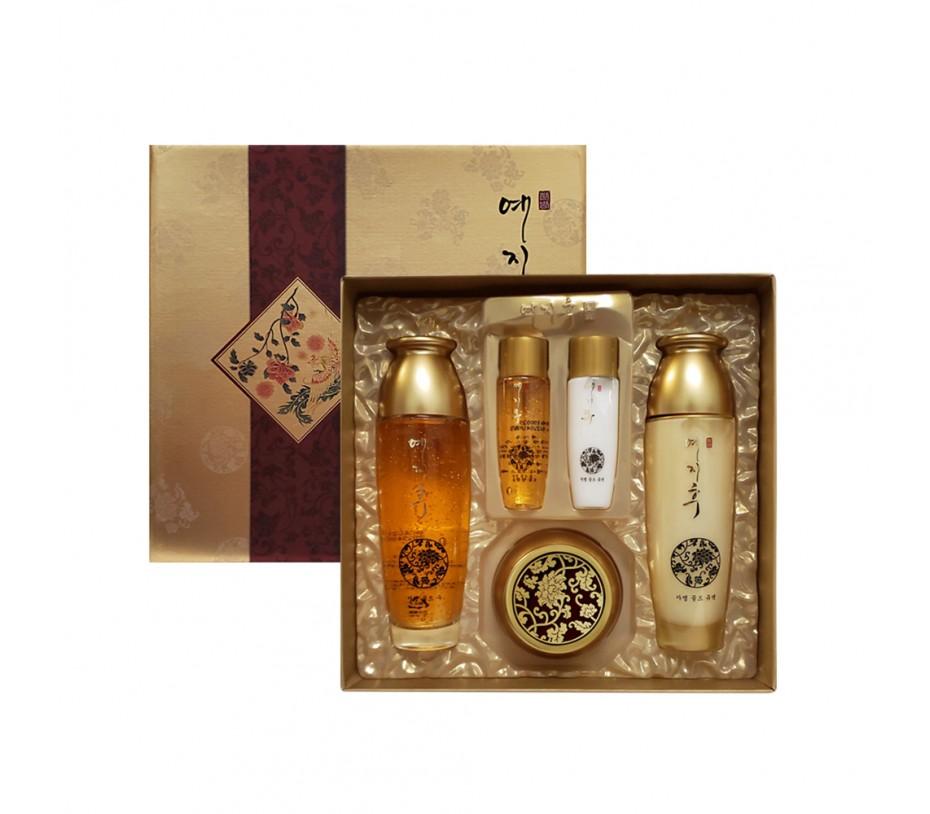 LK Yezihu Gold Skincare 3pcs Set