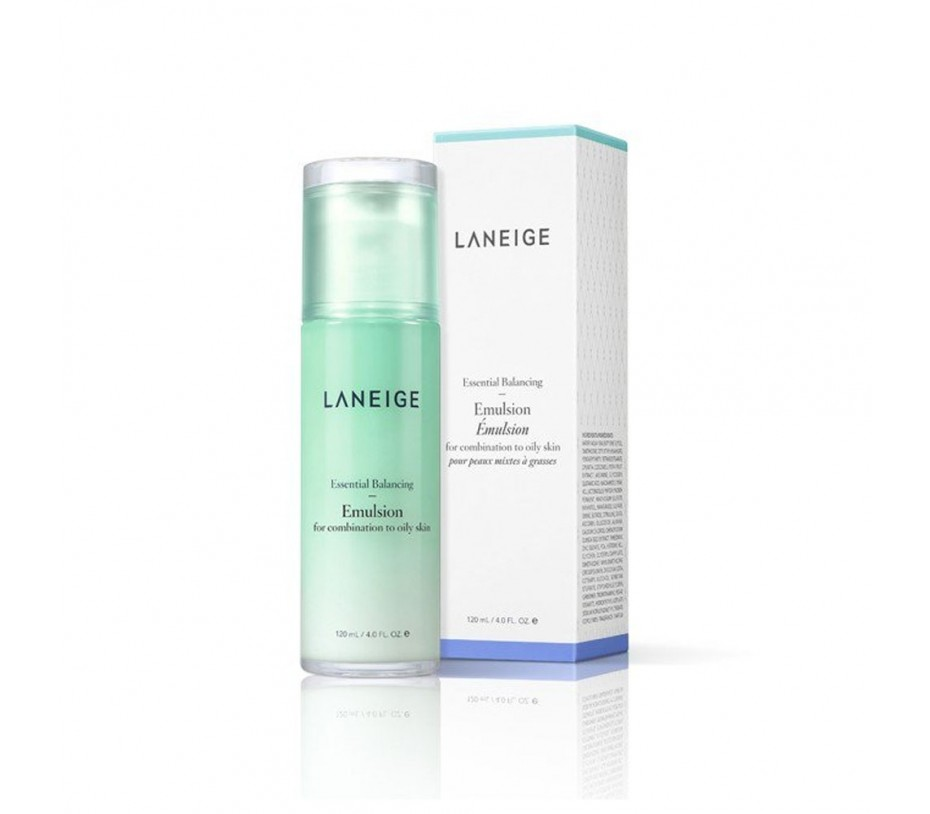 Laneige Essential Balancing Emulsion (for Combination to Oily skin) 4fl.oz/120ml