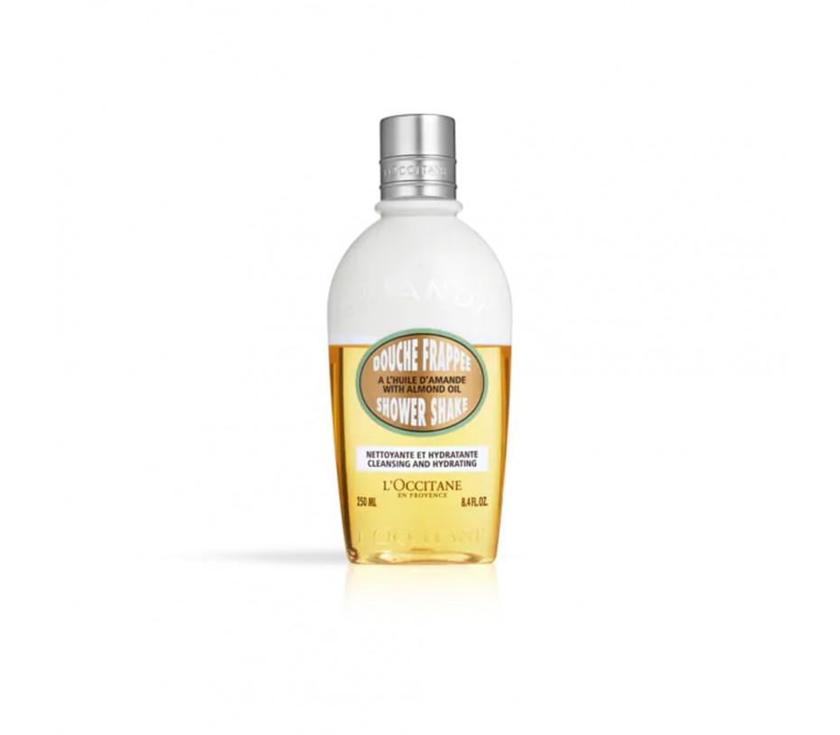 L'occitane Almond Shower Shake 8.4fl.oz/250ml