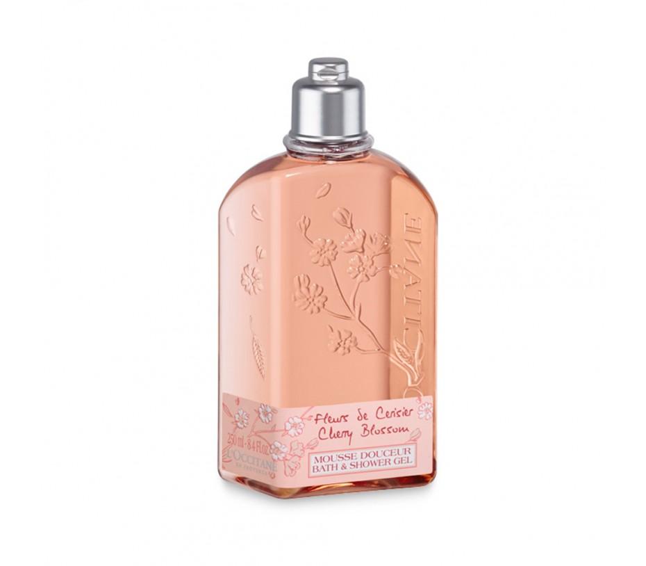 L'occitane Cherry Blossom Bath & Shower Gel 8.4fl.oz/248ml