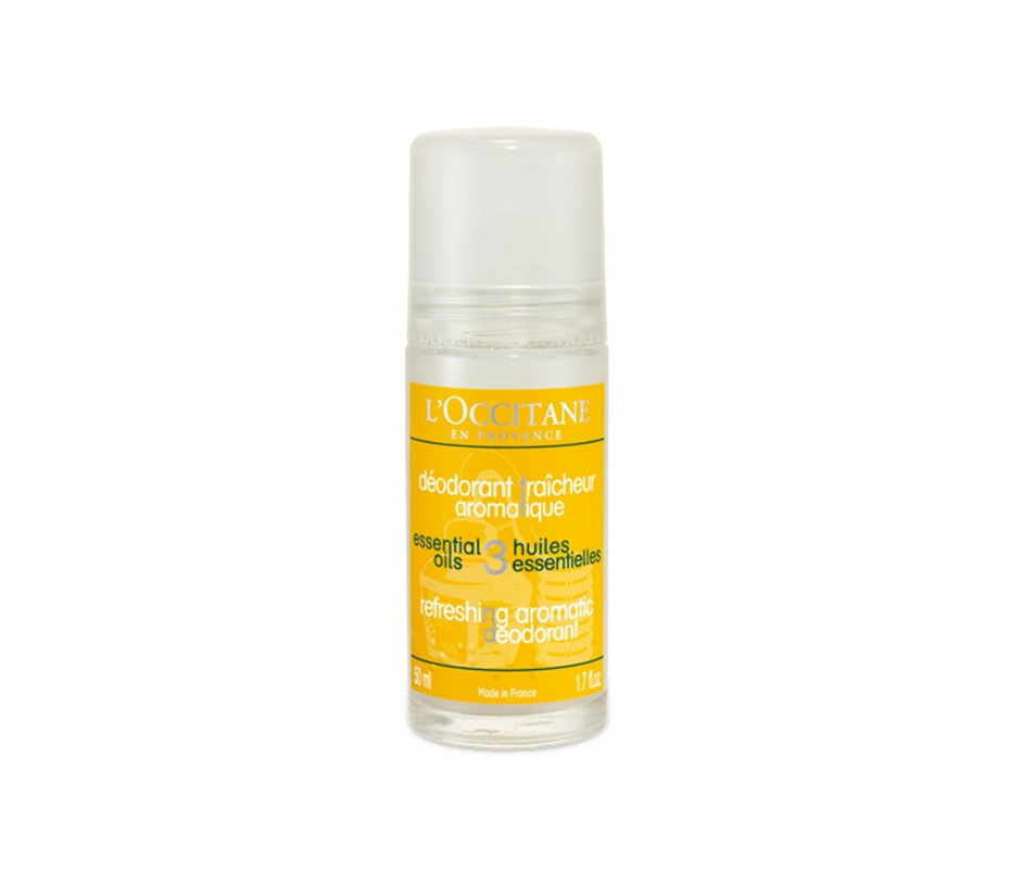 L'occitane Essential Oils Aromachologie Refreshing Aromatic Deodorant 1.7oz/48g