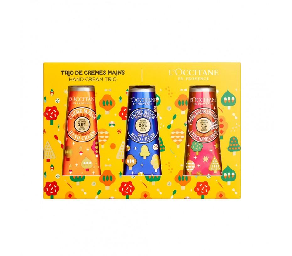 L'occitane Holiday Hand Cream Trio